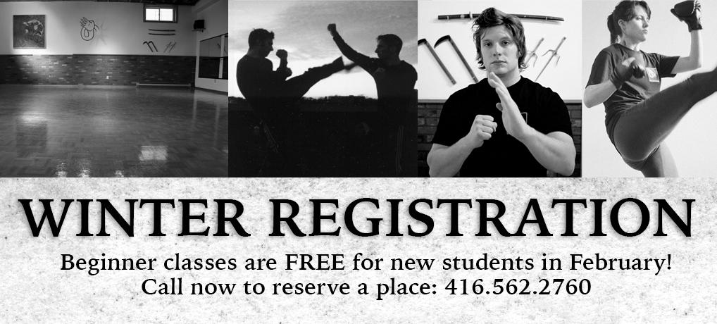 Winter Registration 2020